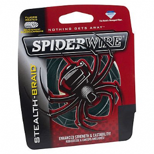 SpiderWire Stealth Moss Green Braid